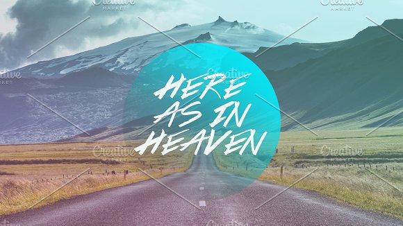 Here As In Heaven Artwork Bundle