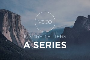 "50% OFF! VSCO ""A Series"" Presets"