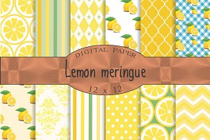 Lemon yellow backgrounds