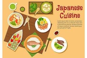 Japanese seafood dinner