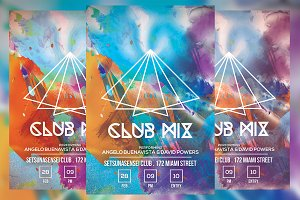 Club Mix Flyer