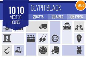 1010 Glyph Icons (V5)