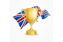 Greate Britain Winning Cup Concept
