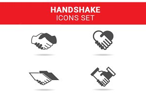 Handshake Icon Set