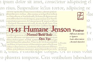 1543 Humane Jenson Family OTF