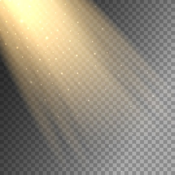 Light Ray On Transparent Background Graphics Creative Market