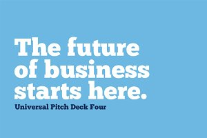 Universal Pitch Deck Four Keynote