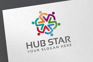 Hub Star Logo