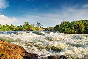 Bujagali Falls, Uganda