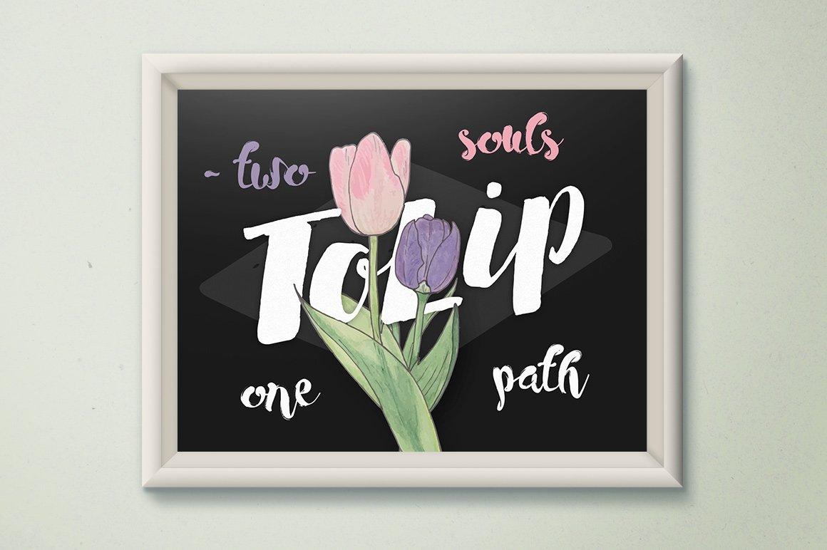 FlorArt Watercolor Kit - Illustrations