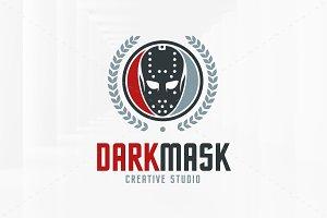 Dark Mask Logo Template