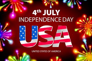 American Independence Day 4th july