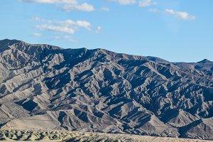 Desert Nevada snowy sierra mountains