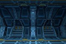 Spaceship Interior Design.