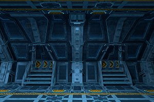 Spaceship Interior Design.