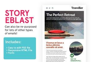 Story Eblast (HTML+PSD)