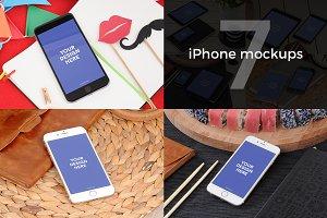 7 iPhone mockups