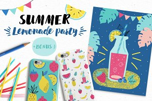 Summer Lemonade party