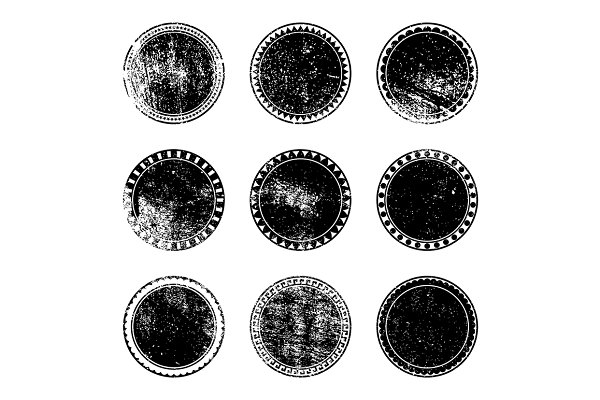 Grunge Stamp Set