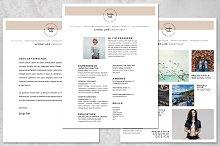 Resume Kit for Artists 8.5 x 11