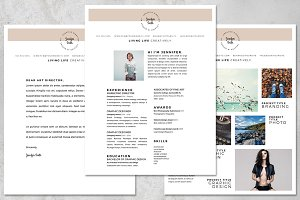 Resume Kit for Artists 8.5 x 11