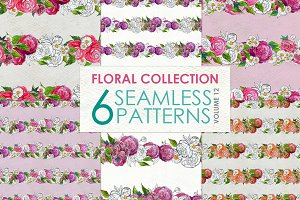 Floral Pattern Collection Vol. 12