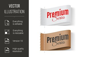 Labels Premium series