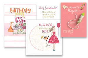 Multi-Purpose Invitation Bundle