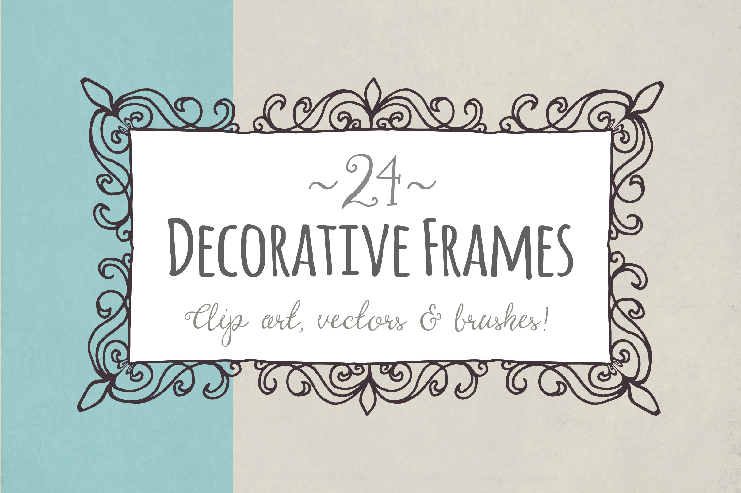 Decorative Frames - Vector ~ Objects ~ Creative Market