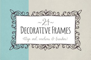 Decorative Frames - Vector