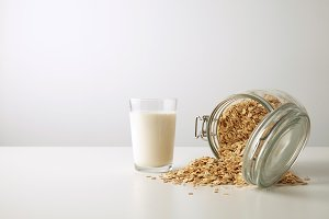 Muesli with rolling oats set
