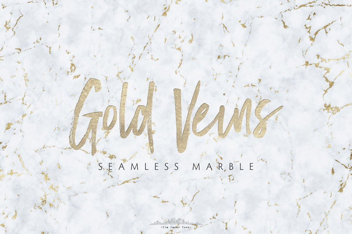 Seamless Marble Textures Gold Veins Textures Creative