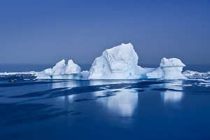 Three antarctic Glaciers