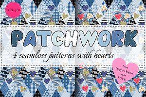 Collection of romantic patchwork