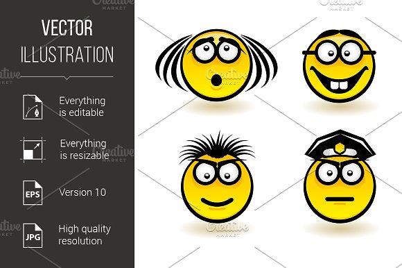 Cartoon faces in Graphics