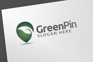 Green Pin Logo