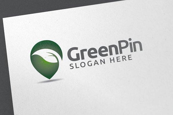 Green Pin Logo