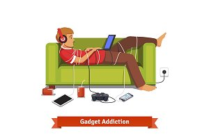 Gadget addiction