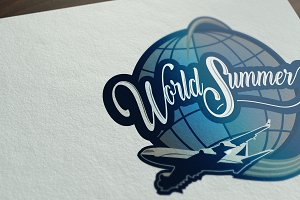 logo world summer