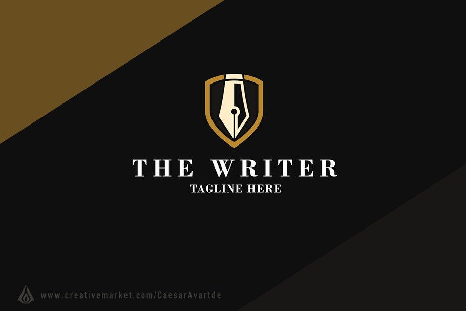 Writer Logo Template