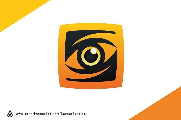 Wild Eye Logo Template