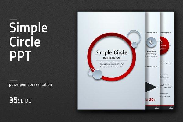 Circle Vertical PPT