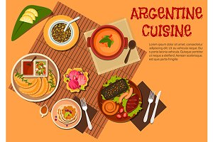 Argentine cuisine dishes