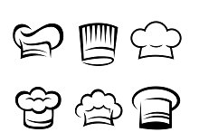 Collection of Chefs Hat Icon