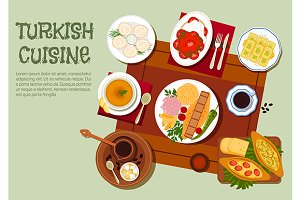 National dishes of turkish cuisine