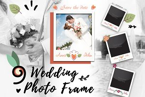 9 wedding photo frame