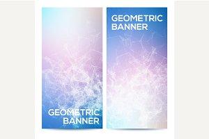 Vertical banners set