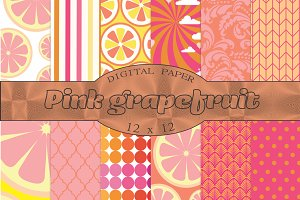 Pink and orange patterns