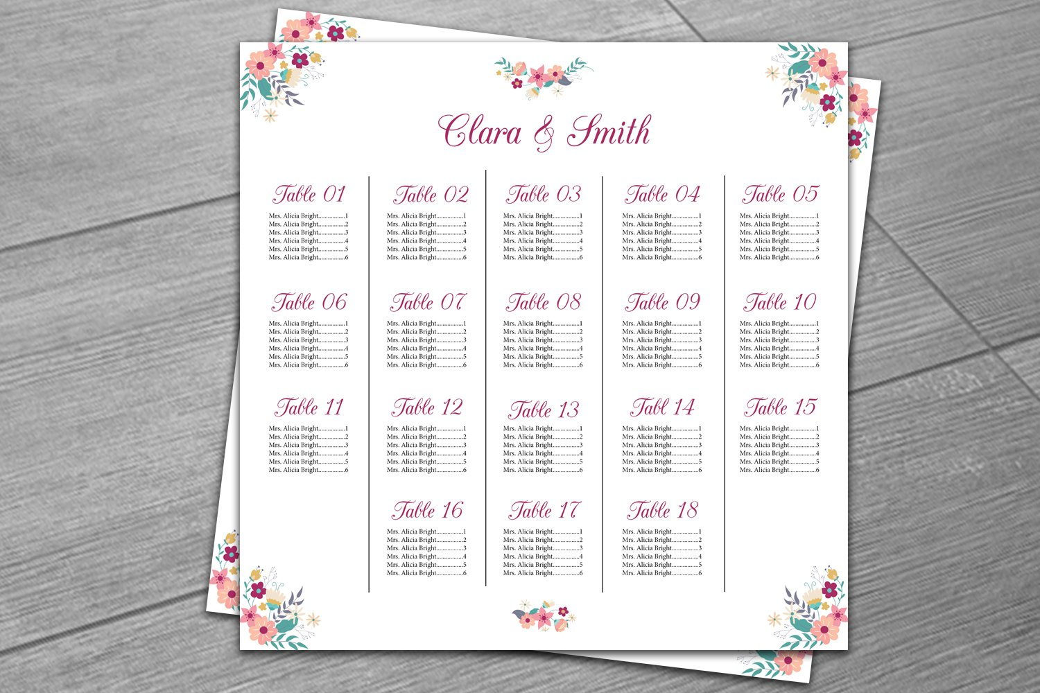 classroom seating chart template free – Free Printable Seating Chart