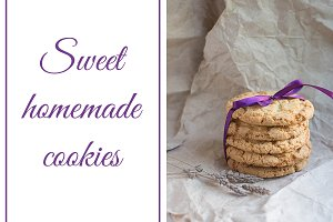 Sweet homemade cookies